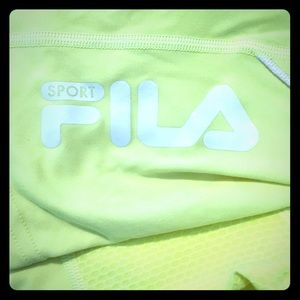 FILA Lime Green Running Tee 🏃‍♀️